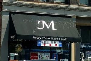 McCoy's Barrelhouse & Grill Entrance