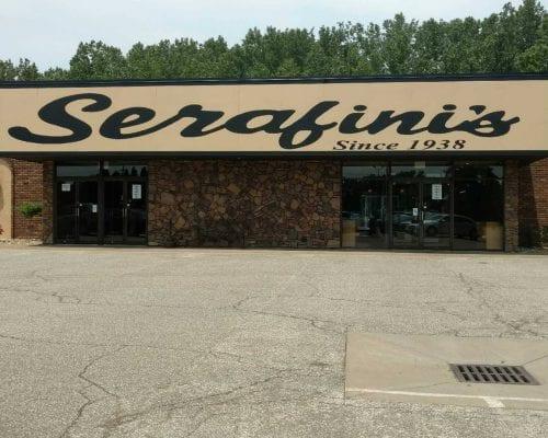 Serafini's Restaurant - Exterior - Signage - Erie, PA