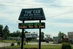 The Cab Bar & Grille - Exterior - Signage - Erie, PA